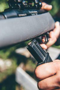 Self-defence hunting rifle