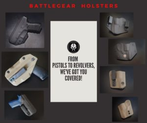 Battlegear Holsters, we've got you covered