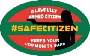 #SafeCitizen logo firearm gun guns