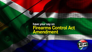 Firearms control act self-defence